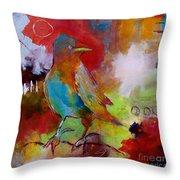 Raven Morgan 004 Throw Pillow