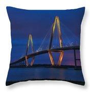Ravenel Bridge Throw Pillow