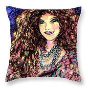 Ravishing Beauty Throw Pillow