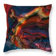 Raw 1 Throw Pillow