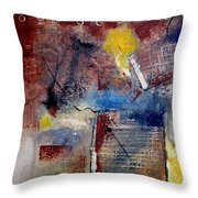 Raw Emotions II Throw Pillow