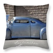 Raw Steel Throw Pillow