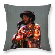 Ray Lamontagne-9039 Throw Pillow