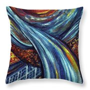 Ray Of Hope 3 Throw Pillow