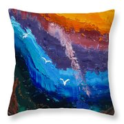 Ray Of Hope Throw Pillow