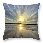Rayed Marsh 2 Throw Pillow