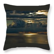 Rays Of God  Throw Pillow