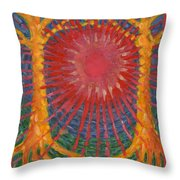 Rays Of Life Throw Pillow