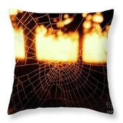 Rays Of Light Throw Pillow