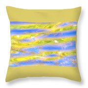 Rays Of Love Throw Pillow