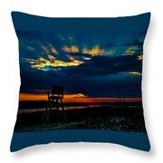Rays Of Sunshine Throw Pillow