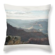 Rays Of The Grand Canyon Throw Pillow