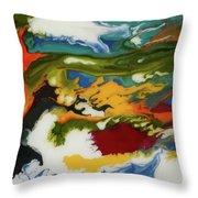 'razzamatazz' Throw Pillow