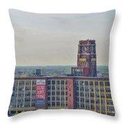 Rca Victor - Camden New Jersey Throw Pillow