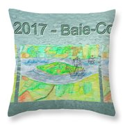 Rdv 2017 Baie-comeau Mug Shot Throw Pillow