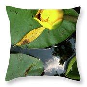 Re Flex At Rest Throw Pillow