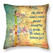 Reach 2.0 Throw Pillow