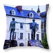 Reach Out - Belfast Ireland Throw Pillow