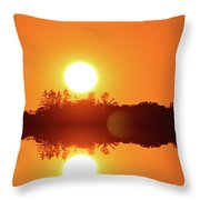 Reach Out Two  Throw Pillow