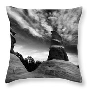 Reaching For The Clouds Throw Pillow