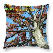 Reaching For The Sky 2 Throw Pillow