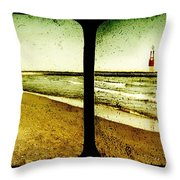 Reaching For Your Hand Throw Pillow