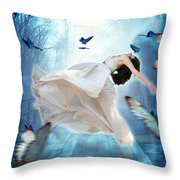 I Dreamt I Could Fly Throw Pillow