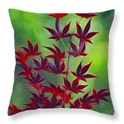 Reaching Skyward Throw Pillow