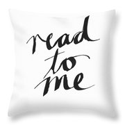 Read To Me- Art By Linda Woods Throw Pillow
