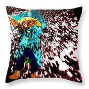 Reading - A New World To Explore Throw Pillow