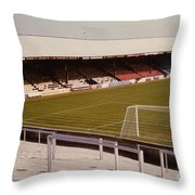 Reading - Elm Park - Norfolk Road Stand 4 - 1970s Throw Pillow