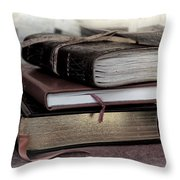 Reading Material Throw Pillow