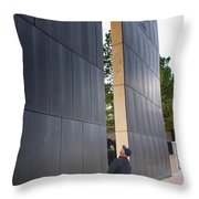 Reading The West Wall Throw Pillow