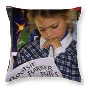 Reading Week Throw Pillow
