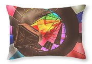 Readington Balloon Festival #1 2015 Throw Pillow by Pat Abbott