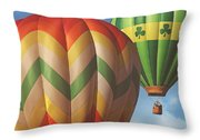 Readington Balloon Festival #2 2015 Throw Pillow