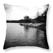 Ready And Waiting Throw Pillow
