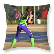 Ready For Action Throw Pillow