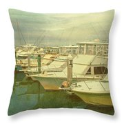 Ready For Fishing  Throw Pillow