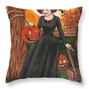 Ready For Halloween Throw Pillow