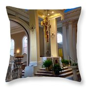 Ready For Mass Throw Pillow