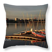 Ready For Sailing Throw Pillow