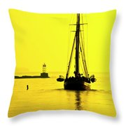 Ready For Sails  Throw Pillow