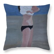 Ready For Summer Fun Throw Pillow