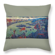 Ready For The Campaign, The Varangian Sea Throw Pillow