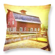 Ready For The Hay Throw Pillow
