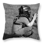 Ready For The Pitch Throw Pillow