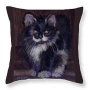 Ready For Trouble Throw Pillow
