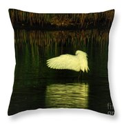 Ready On The Left Throw Pillow