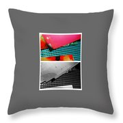 Ready Red  Throw Pillow